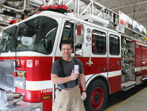 Firefighter and Owner - Doug Rixmann
